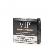 VIP Electronic Cigarette British Gold Tobacco Regular Strength E-Liquid Cartomisers