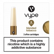 Vype ePen Blended Tobacco Refill Caps