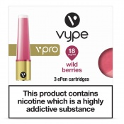 Vype ePen vPro Wild Berries Refill Caps