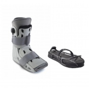 Aircast AirSelect Short Walker Boot and Evenup Shoe Balancer