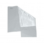 WendyLett 4Way Grey 140cm x 120cm Draw Sheet with Incontinence Protection and Handles ROMP1649