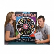 Wheel of Misfortune Game Alcohol Educational Aid