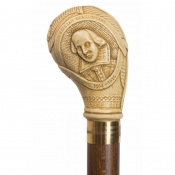 William Shakespeare Beech Wood Cane