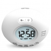 Geemarc Wake 'n' Shake Voyager Extra Loud Travel Alarm Clock with Vibration