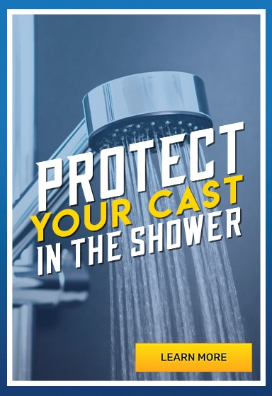 Waterproof Cast Protectors for the Bath and Shower
