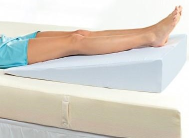 Raise Your Legs With The Putnams Bed Wedge To Relieve Swelling And Varicose Veins