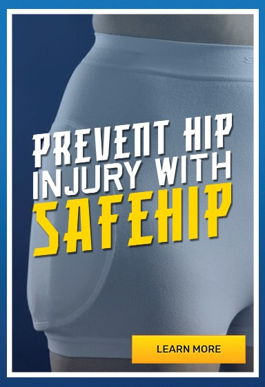 Safehip airx fall prevention underwear