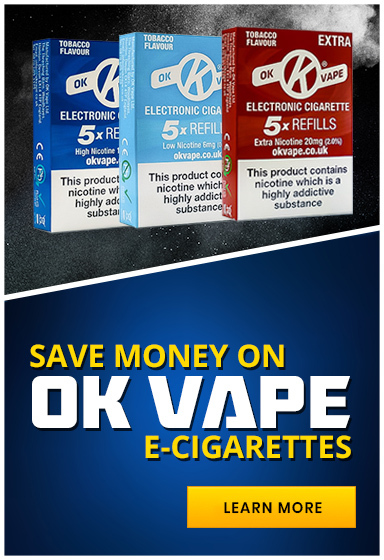 Save Money on OK Vape
