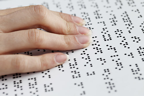 There are many things that can assist you if you're visually impaired to make life easier