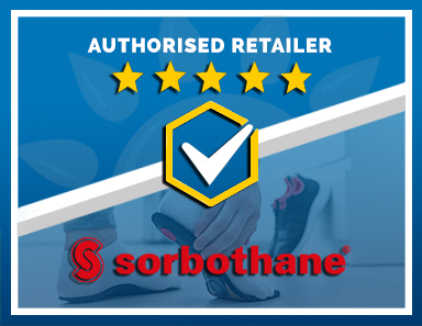 We Are an Authorised Retailer of Sorbothane Products