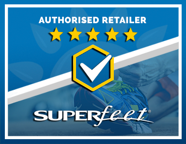 We Are an Authorised Retailer of Superfeet Products