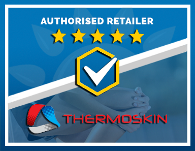 We Are an Authorised Retailer of Thermoskin Products