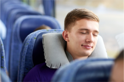 Travel Pillow for Sleeping that Enhances Posture