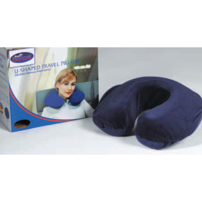 Drive Medical U Shaped Travel Pillow for Sleeping