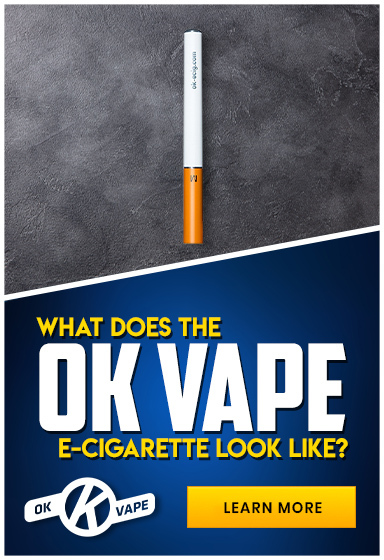 What Does the OK Vape E-Cigarette Look Like?