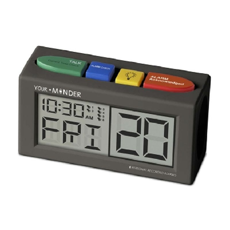 Your Minder Talking Medication Alarm Clock